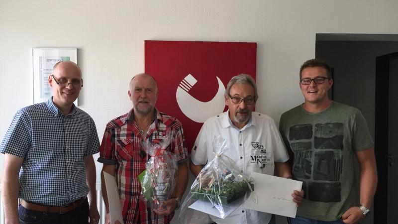 Verabschiedung Rolf Assmann und Dieter Maschek